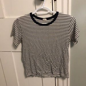 brandy melville striped t shirt